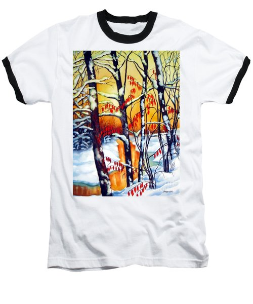 Highland Creek Sunset 2  Baseball T-Shirt
