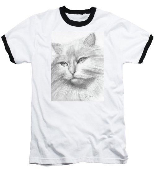 Himalayan Cat Baseball T-Shirt
