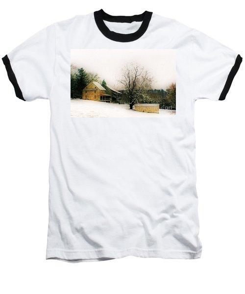 Historic 1700's Farmhouse Baseball T-Shirt