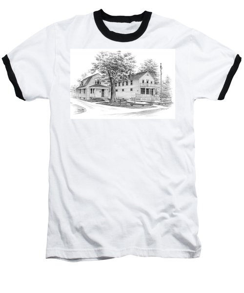 Historic Jaite Mill - Cuyahoga Valley National Park Baseball T-Shirt by Kelli Swan