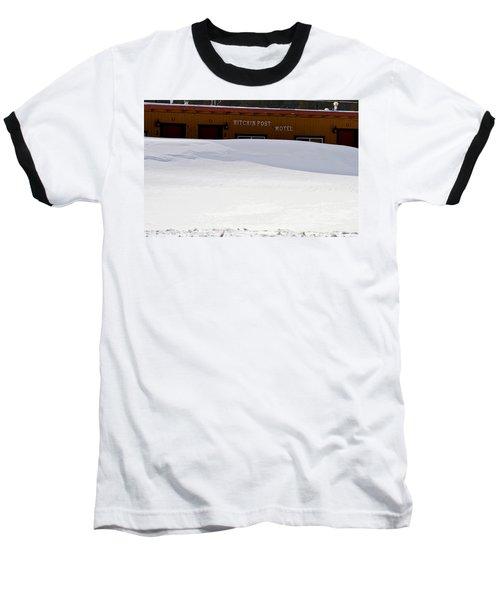 Hitchin' Post April Baseball T-Shirt by Jeremy Rhoades