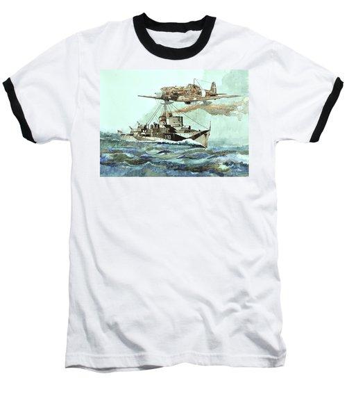 Hms Ledbury Baseball T-Shirt