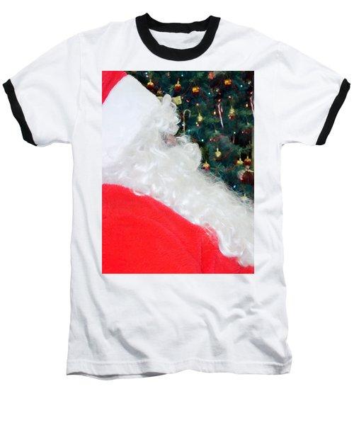 Baseball T-Shirt featuring the photograph Santa Claus by Vizual Studio
