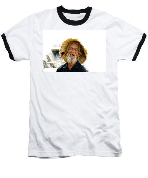 Hoi An Fisherman Baseball T-Shirt