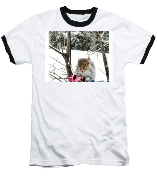 Holiday Joy Baseball T-Shirt