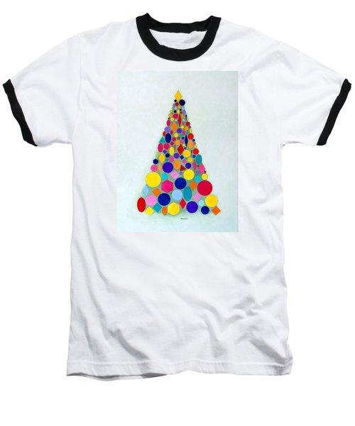 Holiday Tree #1 Baseball T-Shirt