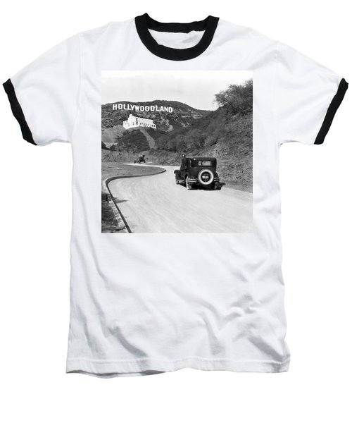 Hollywoodland Baseball T-Shirt