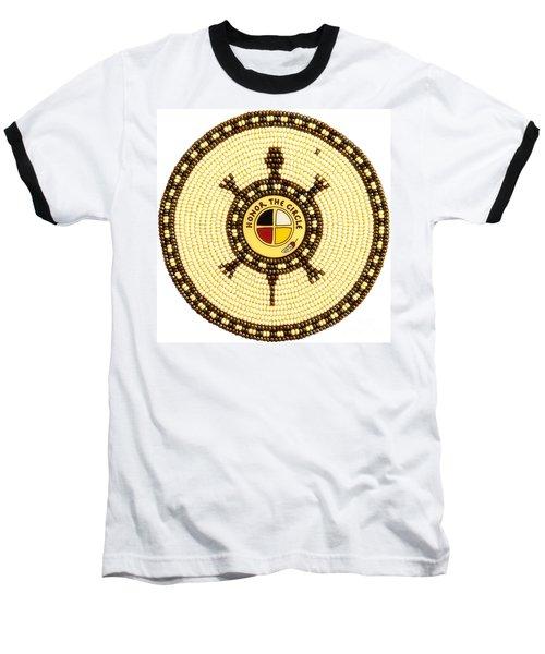 Honor The Circle Baseball T-Shirt