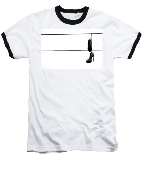 Hooked And Booked  Baseball T-Shirt