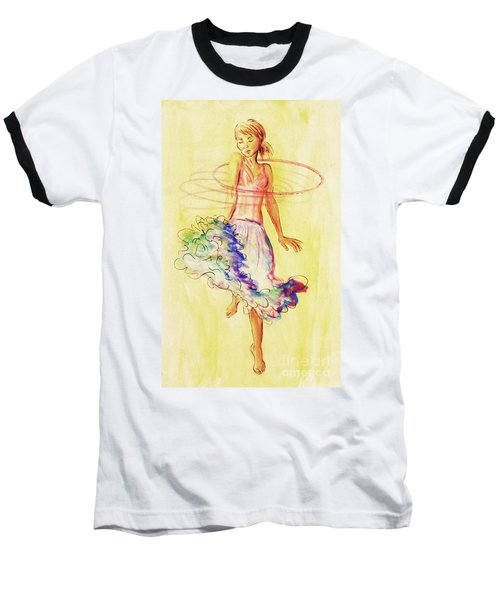 Hoop Dance Baseball T-Shirt