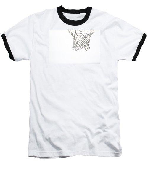 Hoops Baseball T-Shirt by Karol Livote