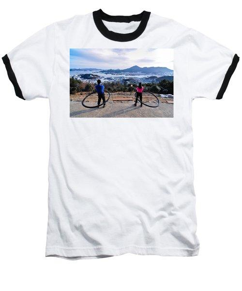 Hoops On The Mountaintop Baseball T-Shirt