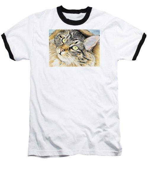 Hopeful Baseball T-Shirt by Shari Nees