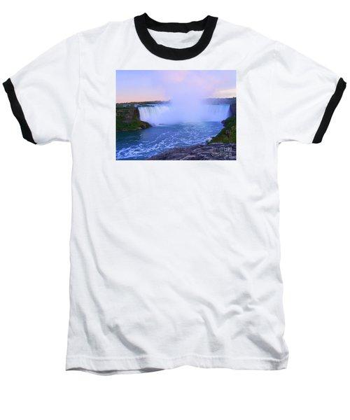 Horseshoe Falls Sunset In The Summer Baseball T-Shirt