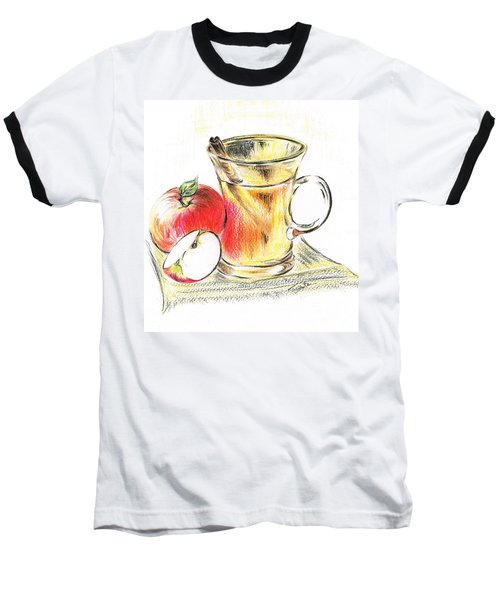 Hot Apple Cider Baseball T-Shirt