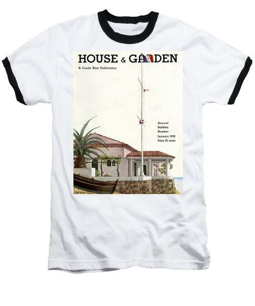 House And Garden Annual Building Number Cover Baseball T-Shirt