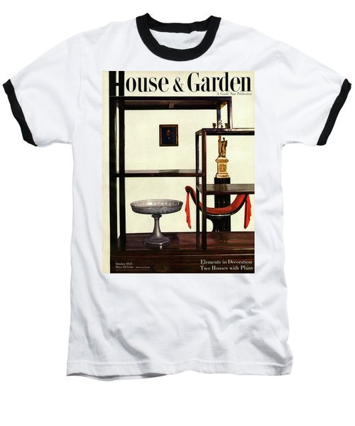 House And Garden Cover Featuring A Chinese Baseball T-Shirt