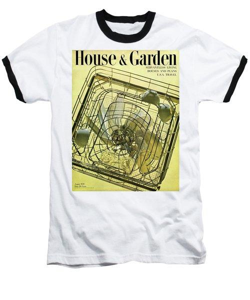 House And Garden Servant Less Living Houses Cover Baseball T-Shirt