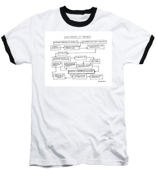 How Manx It Takes Baseball T-Shirt