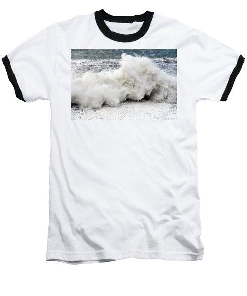 Huge Wave Baseball T-Shirt