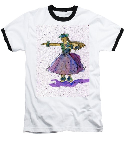 Hula Series Olina Baseball T-Shirt