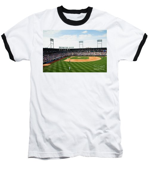 D24w-243 Huntington Park Photo Baseball T-Shirt