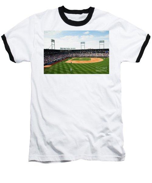 D24w-243 Huntington Park Photo Baseball T-Shirt