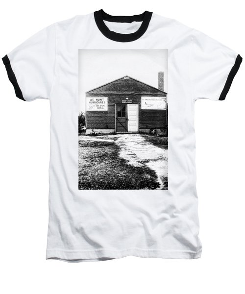 Hurricane Hunters Outbuilding In Alaska Baseball T-Shirt