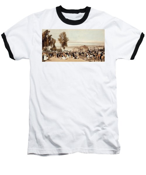 Hyde Park, Towards The Grosvenor Gate Baseball T-Shirt by Thomas Shotter Boys