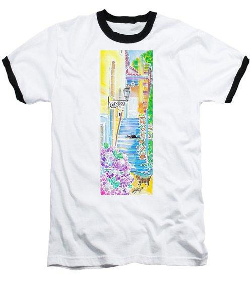 Hydrangeas And The Hotel Baseball T-Shirt