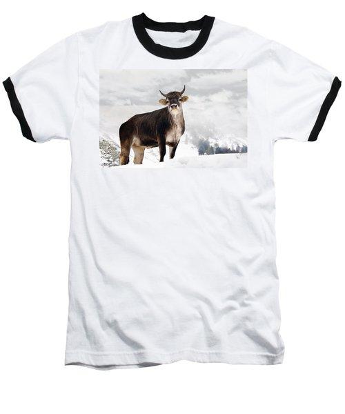 I Don't Like Snow Baseball T-Shirt