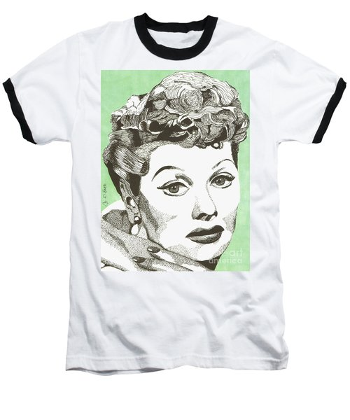I Love Lucy Baseball T-Shirt