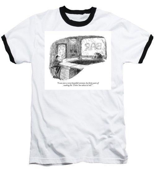 I Was Once A Very Beautiful Woman Baseball T-Shirt