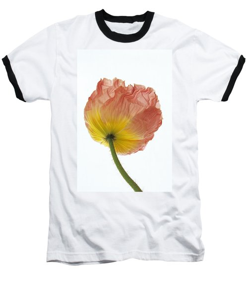 Iceland Poppy 1 Baseball T-Shirt