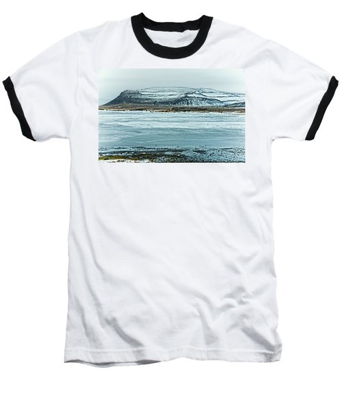Icelandic Winter Landscape Baseball T-Shirt