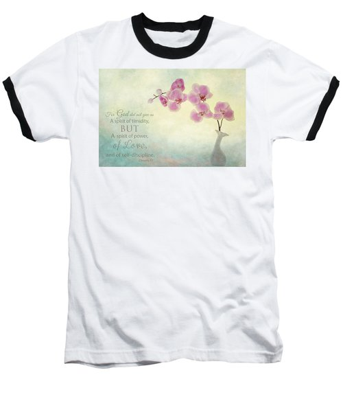 Ikebana With Message Baseball T-Shirt