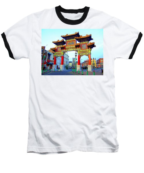 Imperial Chinese Arch Liverpool Uk Baseball T-Shirt
