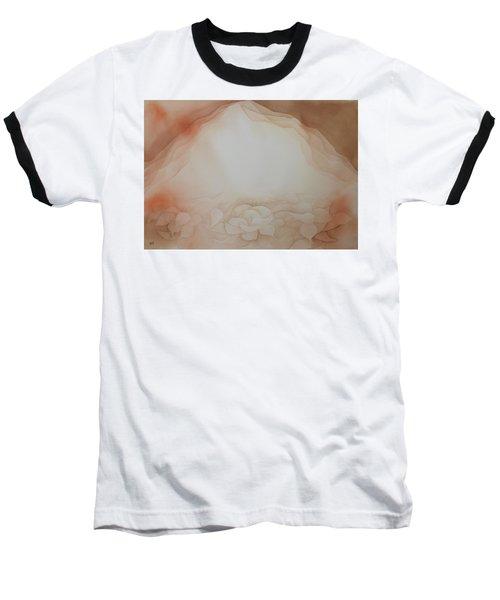 In The Beginning Baseball T-Shirt by Richard Faulkner