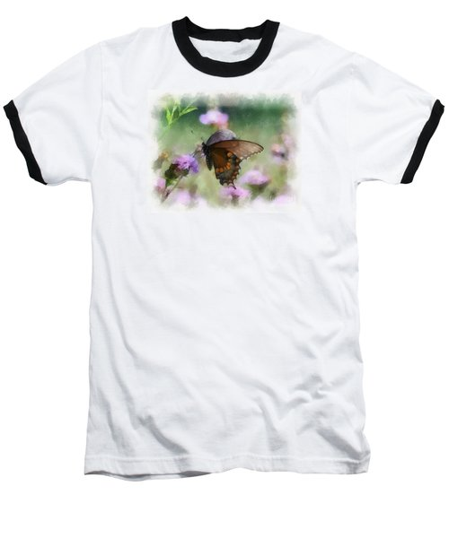 In The Flowers Baseball T-Shirt by Kerri Farley