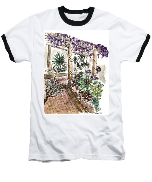 In The Greenhouse Baseball T-Shirt