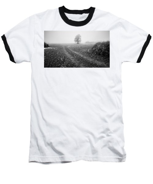 Baseball T-Shirt featuring the photograph In The Mist by Davorin Mance