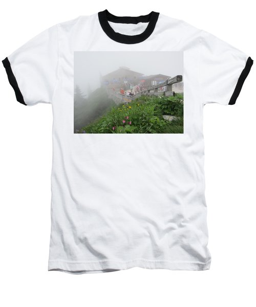 Baseball T-Shirt featuring the photograph In The Mist by Pema Hou