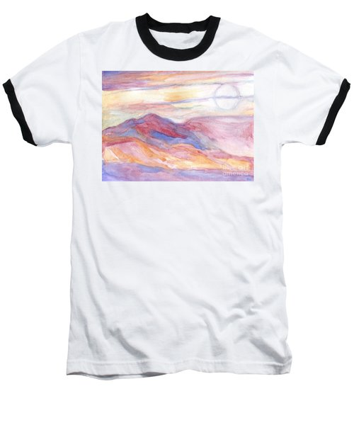 Indian Summer Sky Baseball T-Shirt