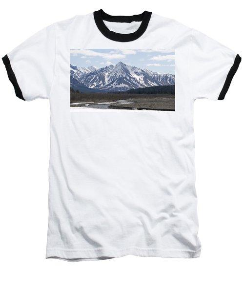 Inside Denali National Park 4 Baseball T-Shirt