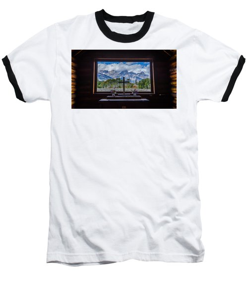 Inside Looking Out Baseball T-Shirt