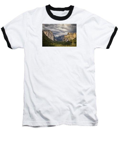 Inspiration Baseball T-Shirt by Alice Cahill