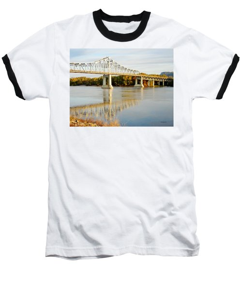 Interstate Bridge In Winona Baseball T-Shirt