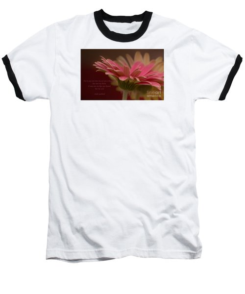 Baseball T-Shirt featuring the photograph Into My Soul by Rima Biswas