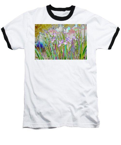 Iris Garden Baseball T-Shirt