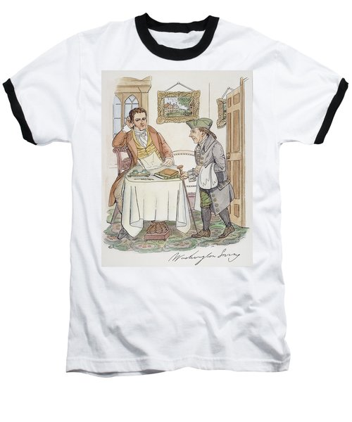 Baseball T-Shirt featuring the painting Irving & Knickerbocker by Granger